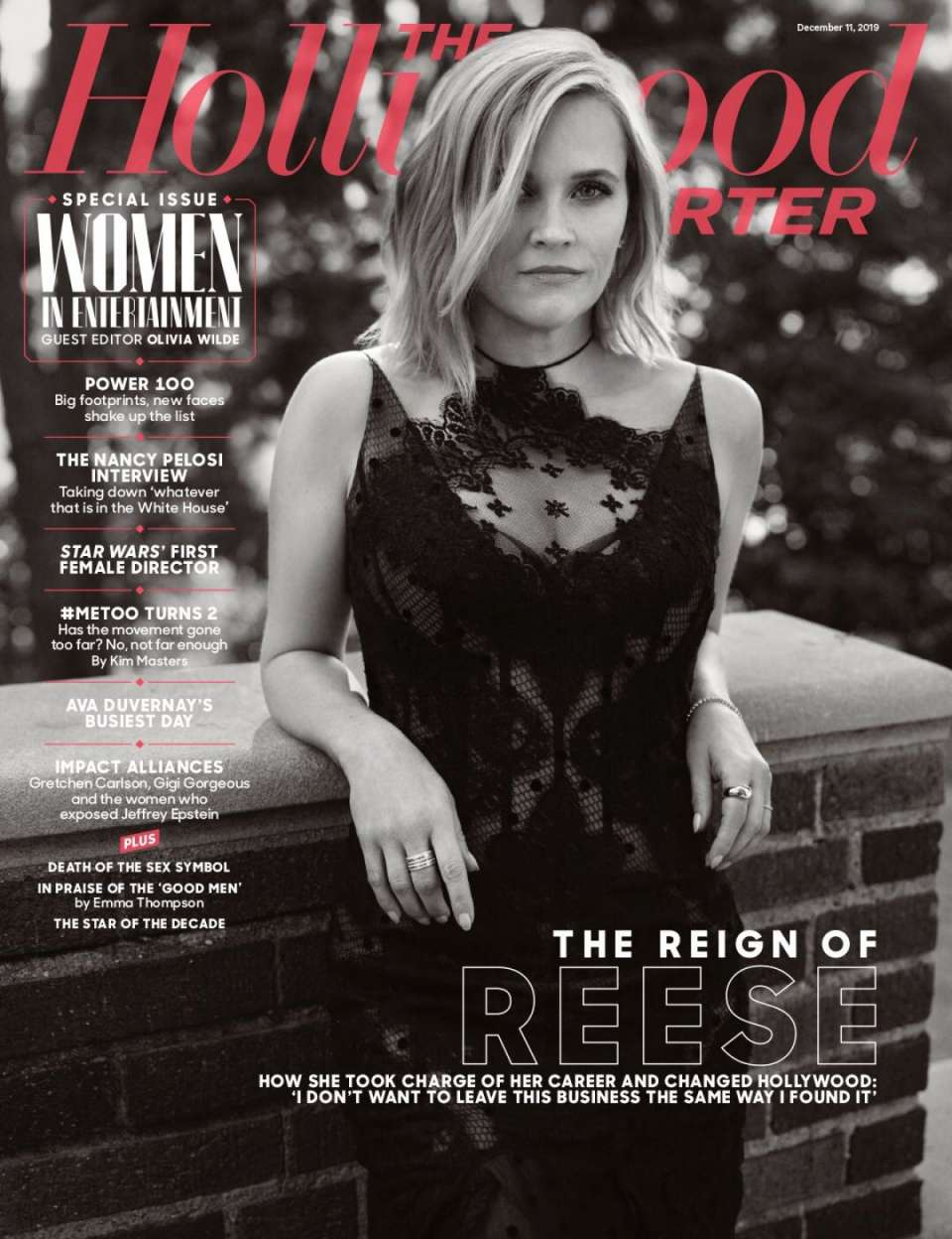 Reese Witherspoon 2019 : Reese Witherspoon – The Hollywood Reporter 2019-03