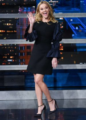 Reese Witherspoon - 'The Late Show with Stephen Colbert' in NY