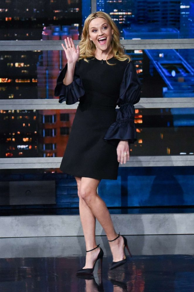 Reese Witherspoon – 'The Late Show with Stephen Colbert' in NY