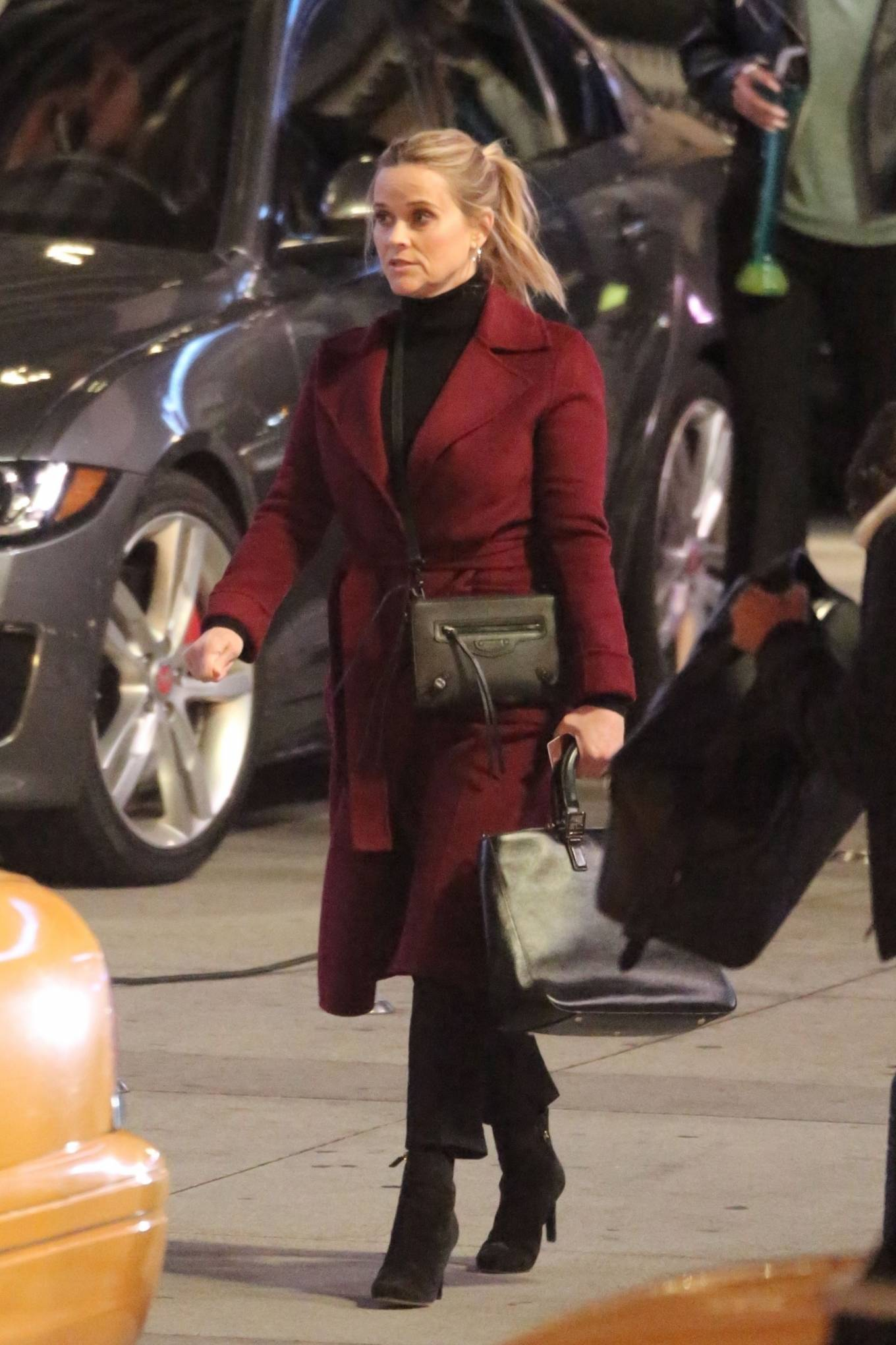 Reese Witherspoon - 'The Morning Show' set in Los Angeles