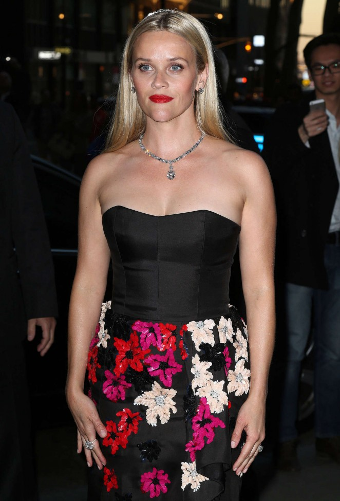 Reese Witherspoon - Tiffany & Co. 2016 Blue Book Celebration The Art of Transformation in NY