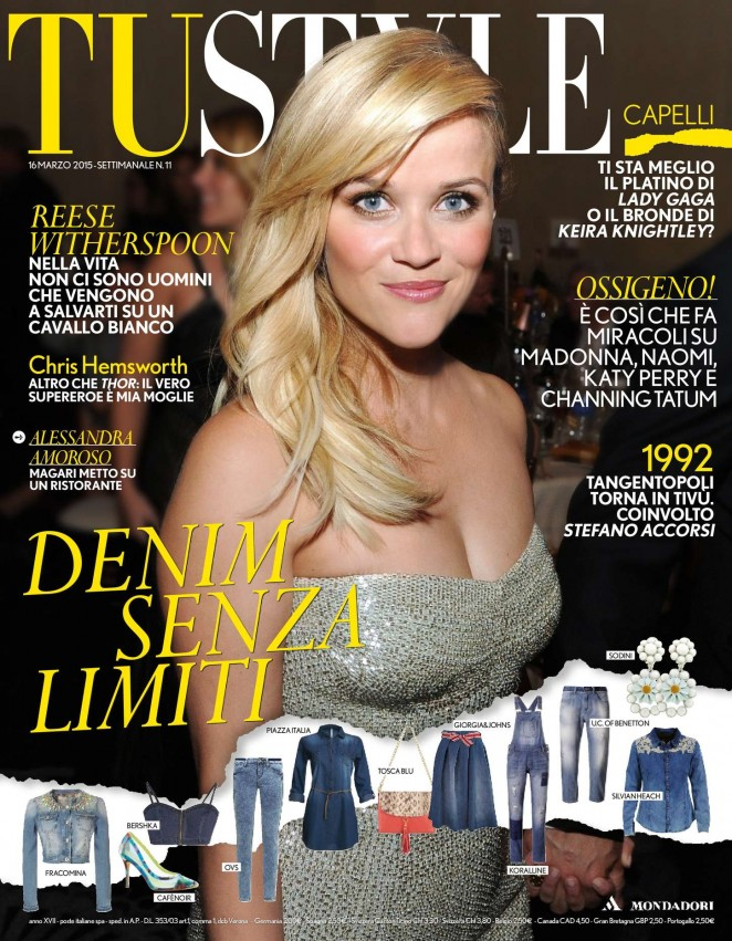 Reese Witherspoon – TuStyle Magazine (March 2015)