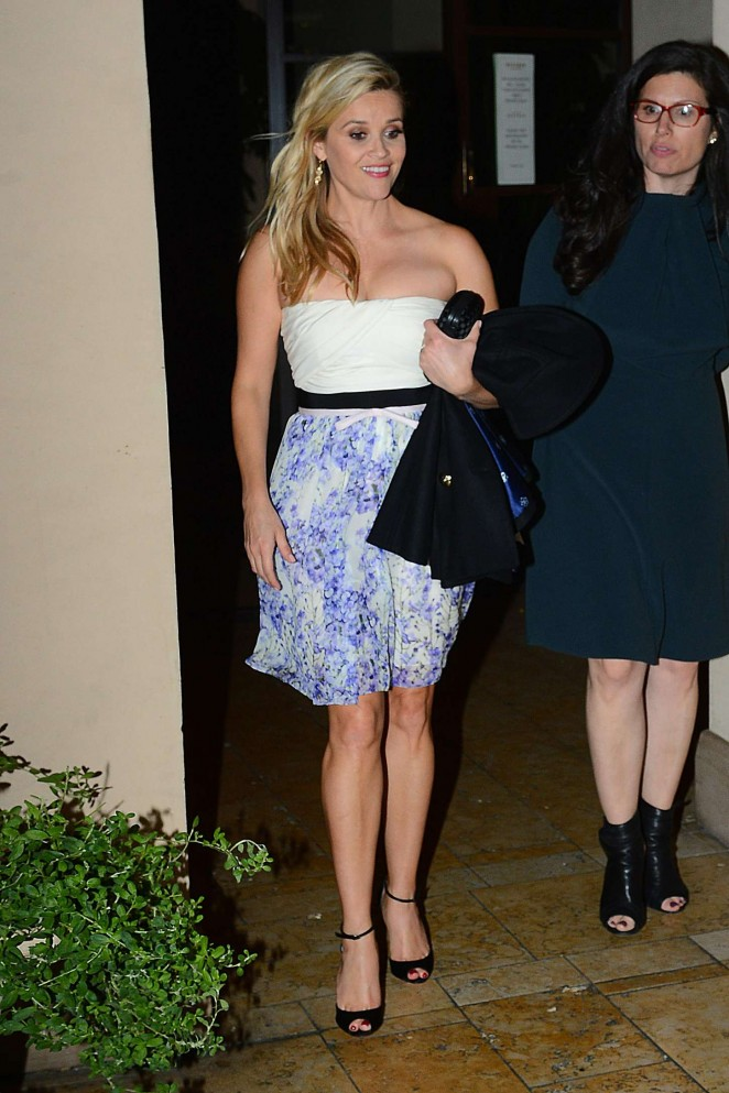 Reese Witherspoon – Vogue Dinner Party in LA