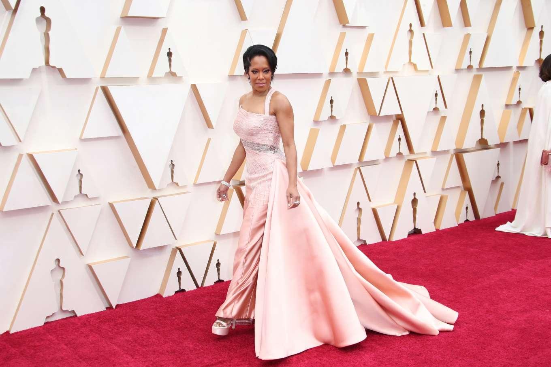 Regina King 2020 Oscars In Los Angeles 05 Gotceleb