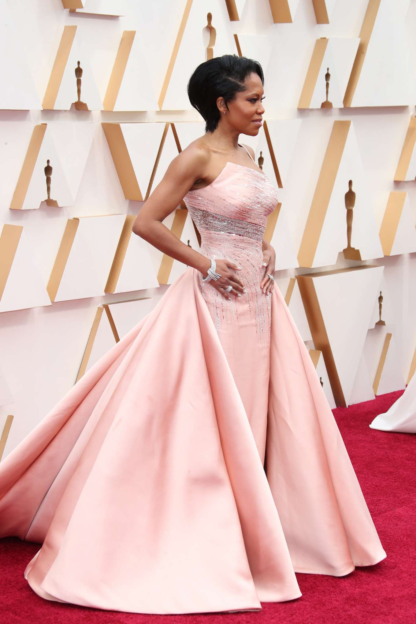 Regina King 2020 Oscars In Los Angeles 10 Gotceleb