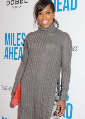 Regina King - 'Miles Ahead' Premiere in Los Angeles