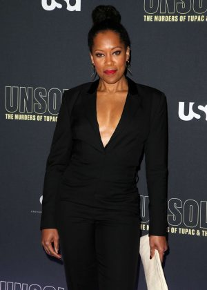 Regina King - 'Unsolved The Murders of Tupac and The Notorious B.I.G.' Premiere in LA