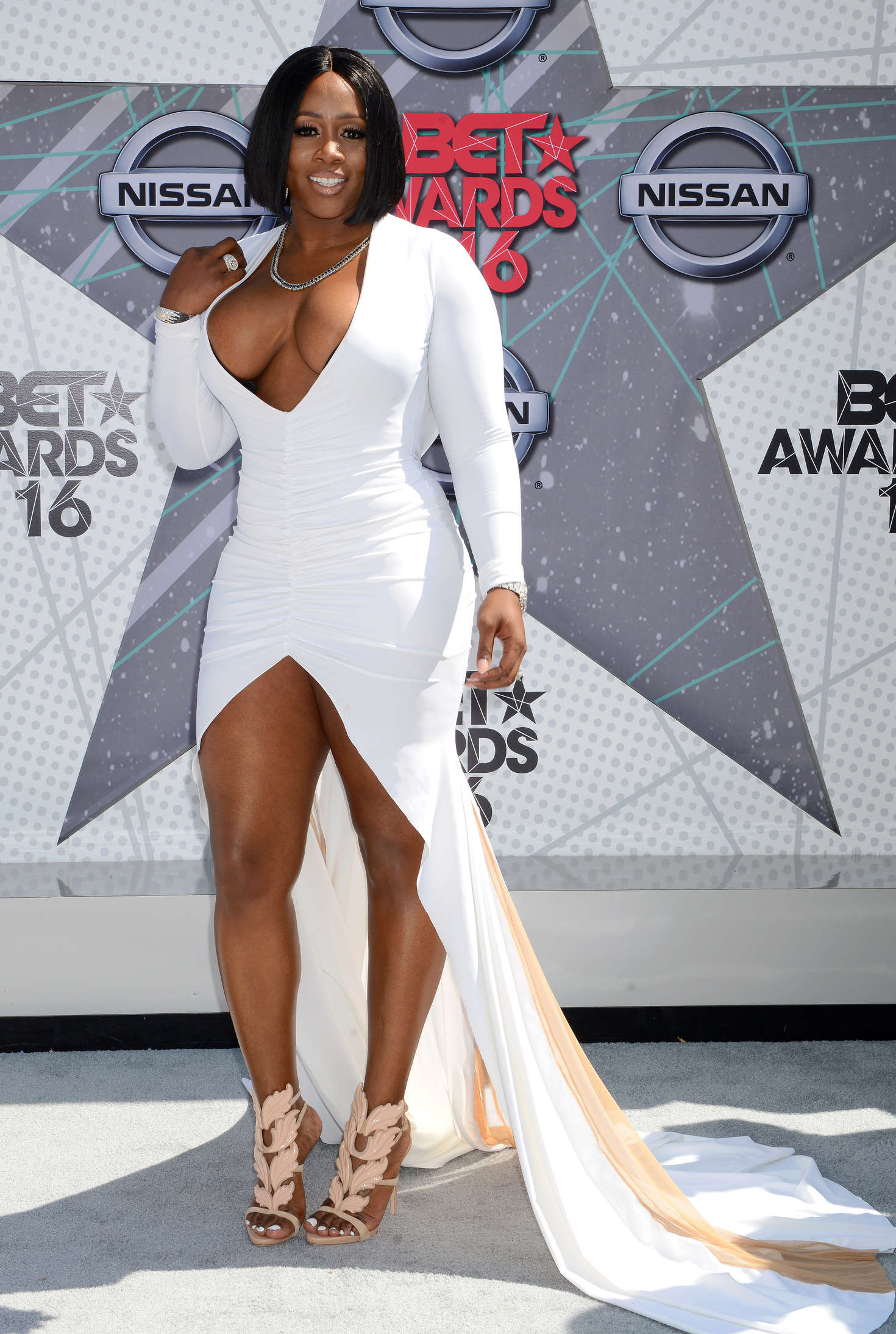 Remy Ma - BET Awards 2016 in Los Angeles - GotCeleb