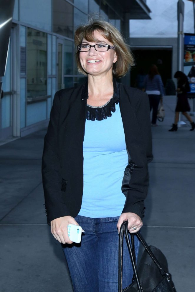 Rena Riffel – Arrives at ArcLight Cinemas in Hollywood