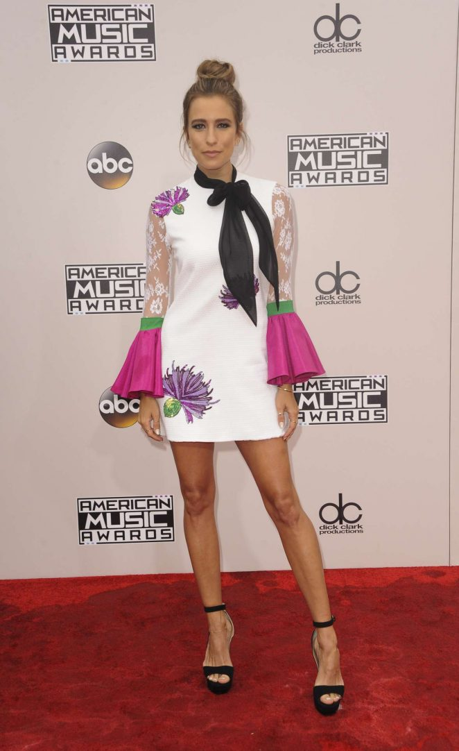 Renee Bargh - 2016 American Music Awards in Los Angeles