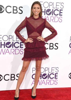 Renee Bargh - 2017 People's Choice Awards in Los Angeles