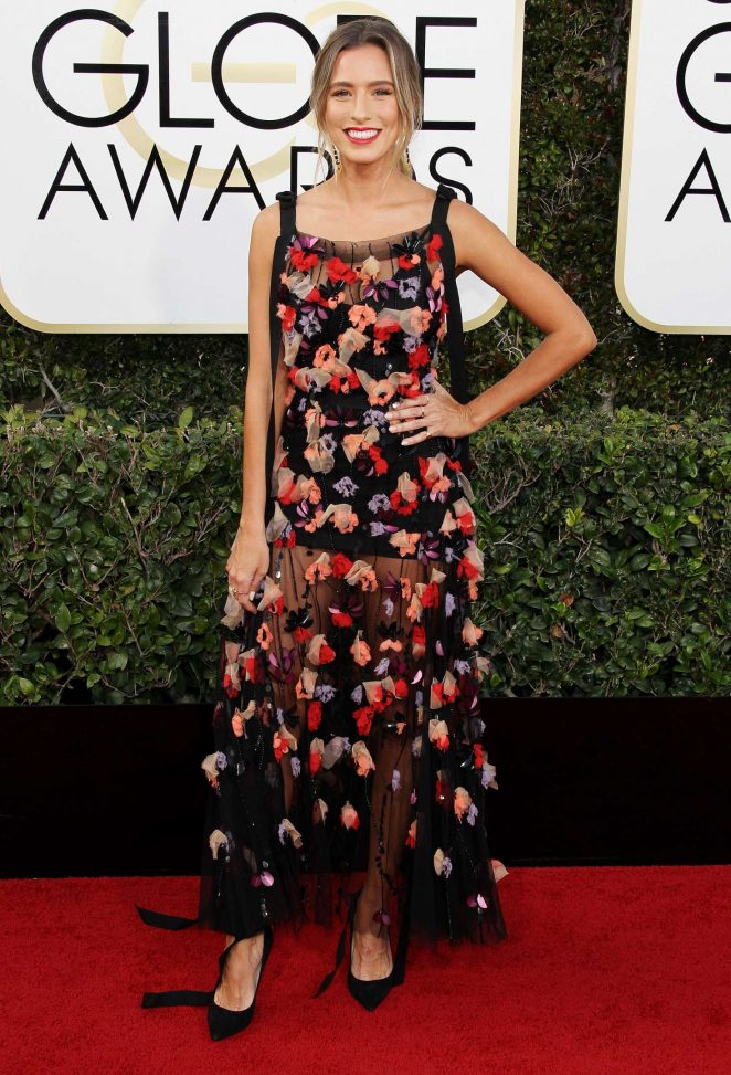 Renee Bargh - 74th Annual Golden Globe Awards in Beverly Hills