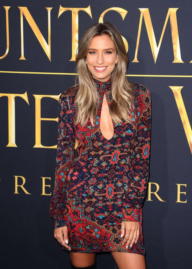 Renee Bargh - 'The Huntsman: Winter's War' Premiere in Westwood