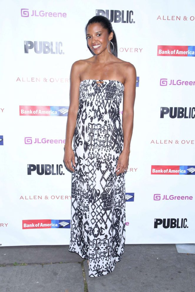 Renee Elise Goldsberry - 'A Midsummer Night's Dream' Play Opening Night in NY