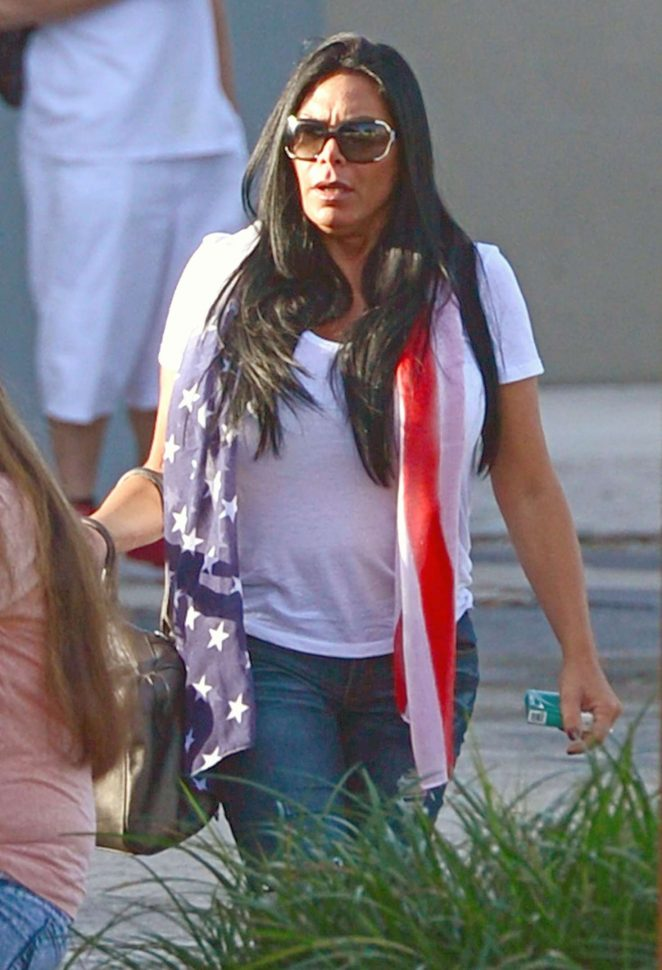 Renee Graziano at a rehab centre in North Miami