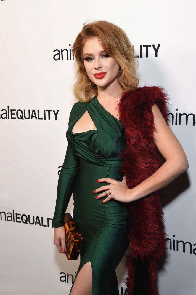 Renee Olstead – Animal Equality's Inspiring Global Action Los Angeles Gala in LA