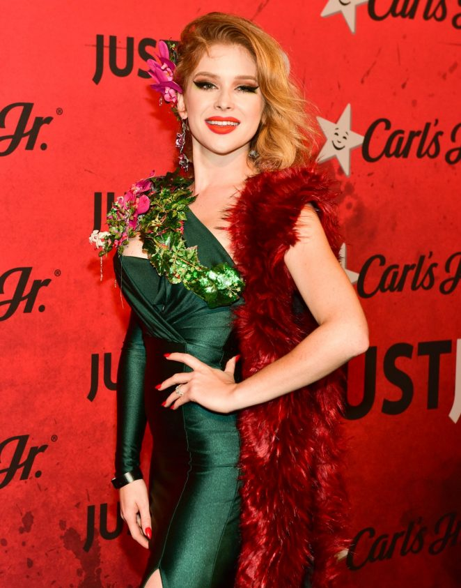 Renee Olstead - Just Jared's 7th Annual Halloween Party in LA