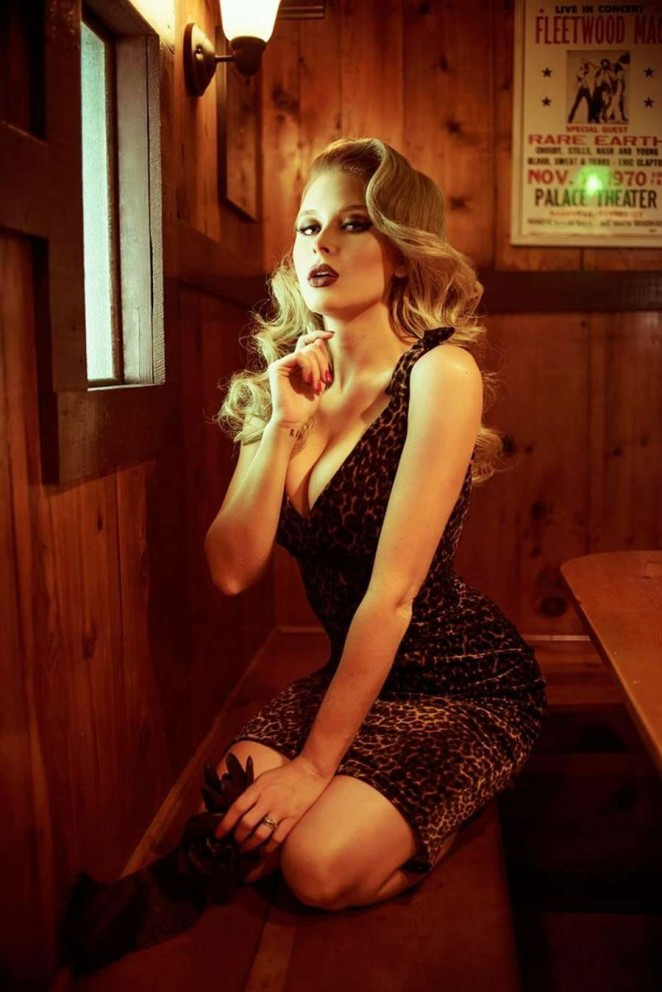 Renee Olstead - Maxim Magazine 2015