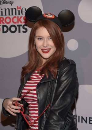 Renee Olstead - Minnie Mouse Rocks The Dots Art And Fashion Exhibit in Los Angeles