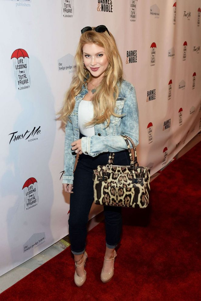 Renee Olstead – MJ Dougherty's Life Lessons from a Total Failure book launch party in LA