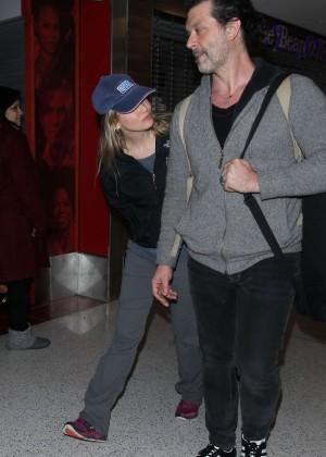 Renee Zellweger - Arrives at LAX Airport in LA