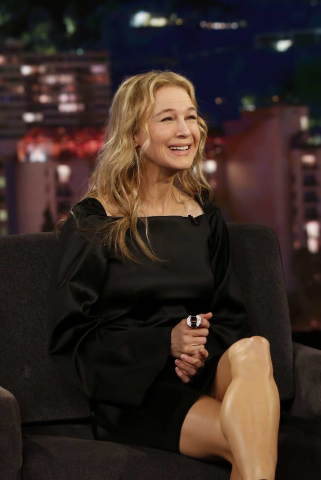 Renee Zellweger at Jimmy Kimmel Live! in Los Angeles