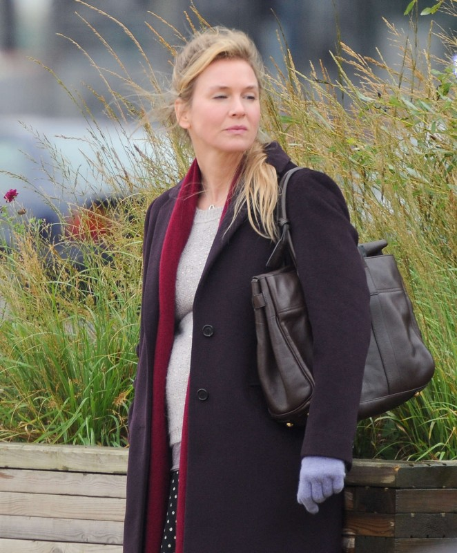 Renee Zellweger: Filming new Bridget Jones Movie -11 ...
