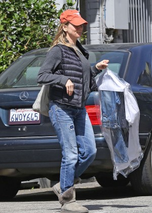 Renee Zellweger in Jeans out in LA