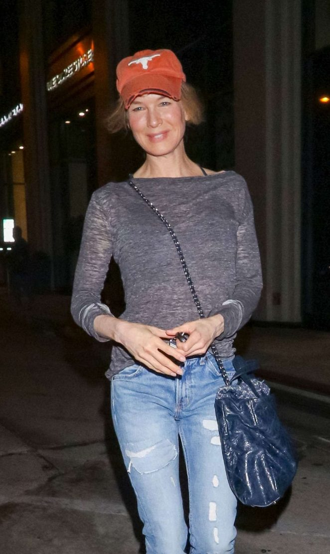 Renee Zellweger - Leaving Catch restaurant in LA