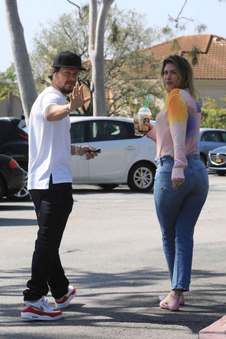Rhea Durham and Mark Wahlberg: Out in Beverly Hills -02