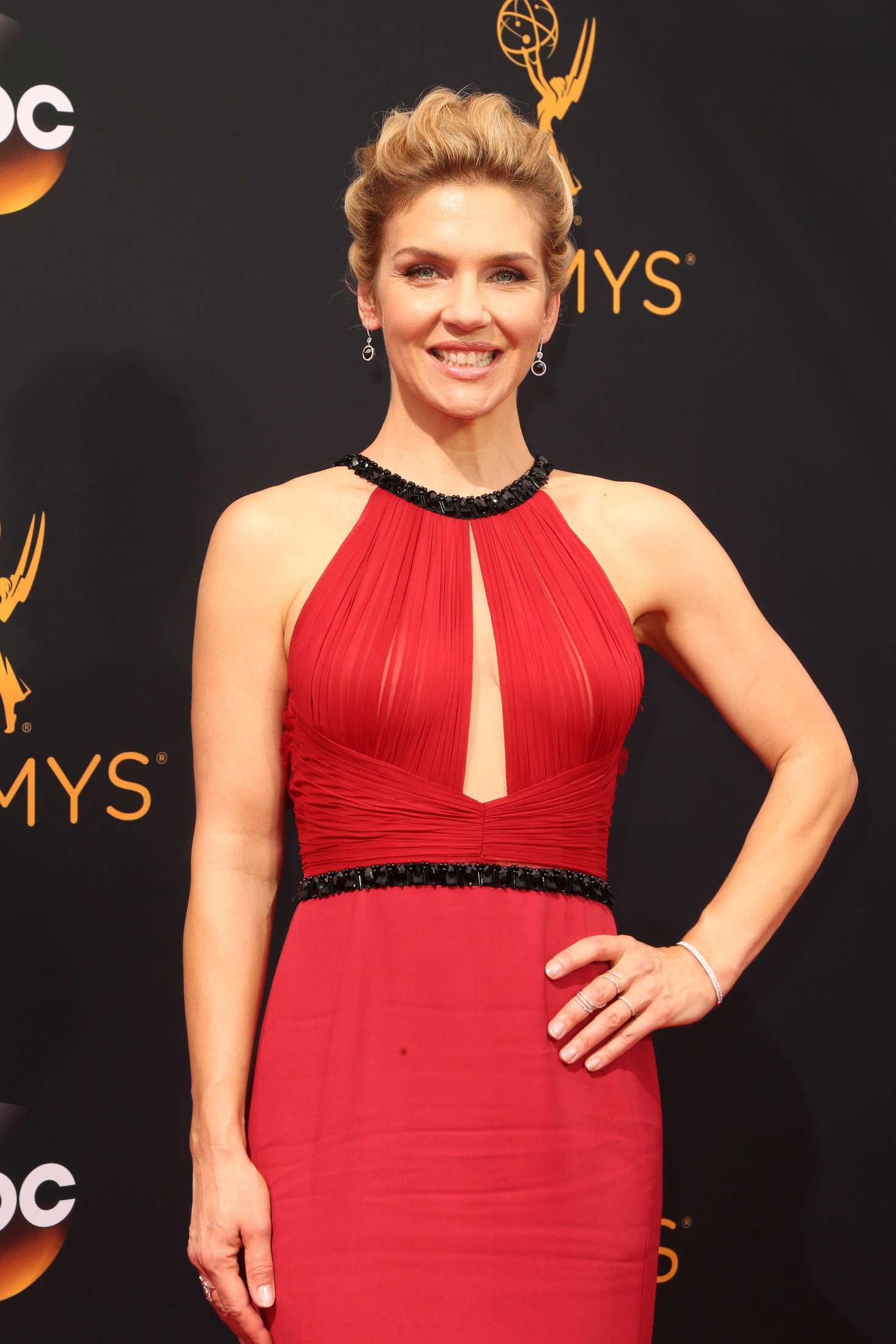 Rhea Seehorn - 2016 Emmy Awards in Los Angeles - GotCeleb