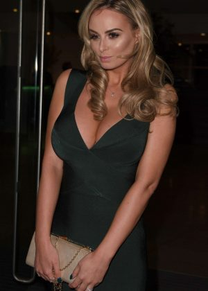 Rhian Sugden - Arrives at Mirror Ball in Manchester