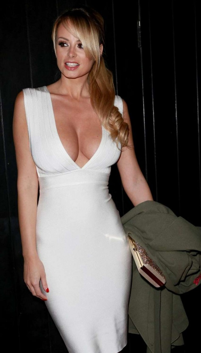 Rhian Sugden at Chris Smalling's Birthday Party in Manchester