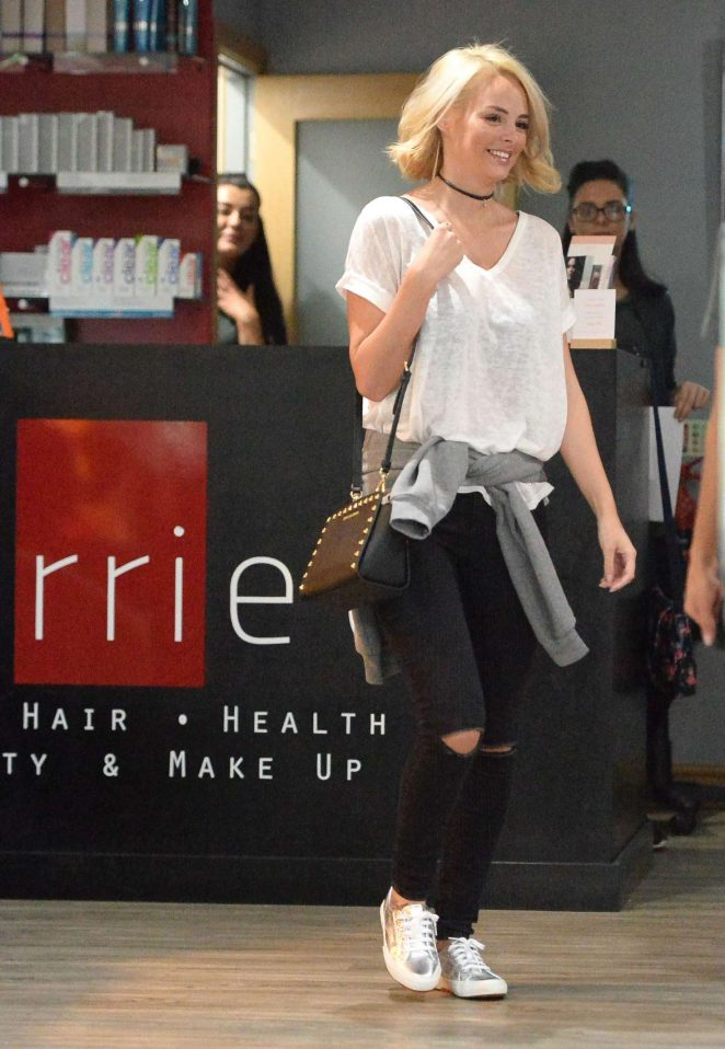 Rhian Sugden at Perriee Spa in Manchester