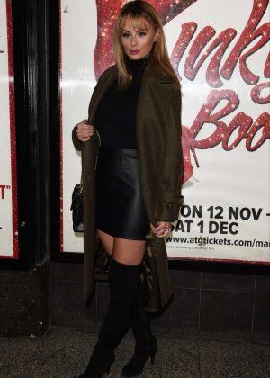 Rhian Sugden - Kinky Boots Press Night in Manchester