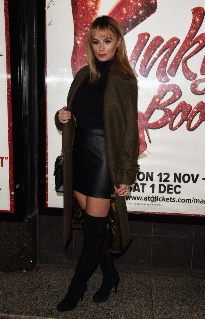 Rhian Sugden – Kinky Boots Press Night in Manchester