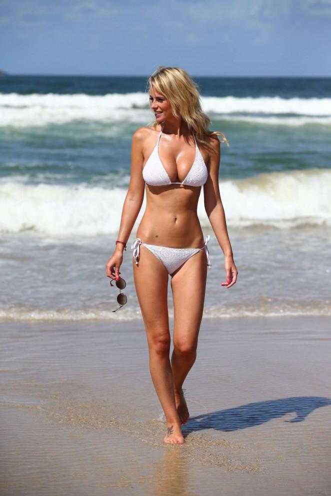 Rhian Sugden – Wearing Bikini in New South Wales