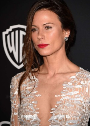 Rhona Mitra - InStyle And Warner Bros Golden Globes Party 2015 in Beverly Hills