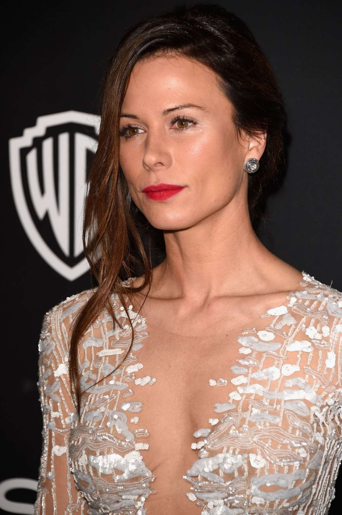 Rhona Mitra - InStyle And Warner Bros Golden Globes Party