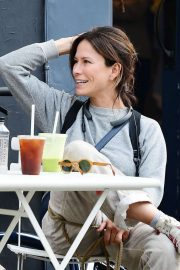 Rhona Mitra - Out in Notting Hill
