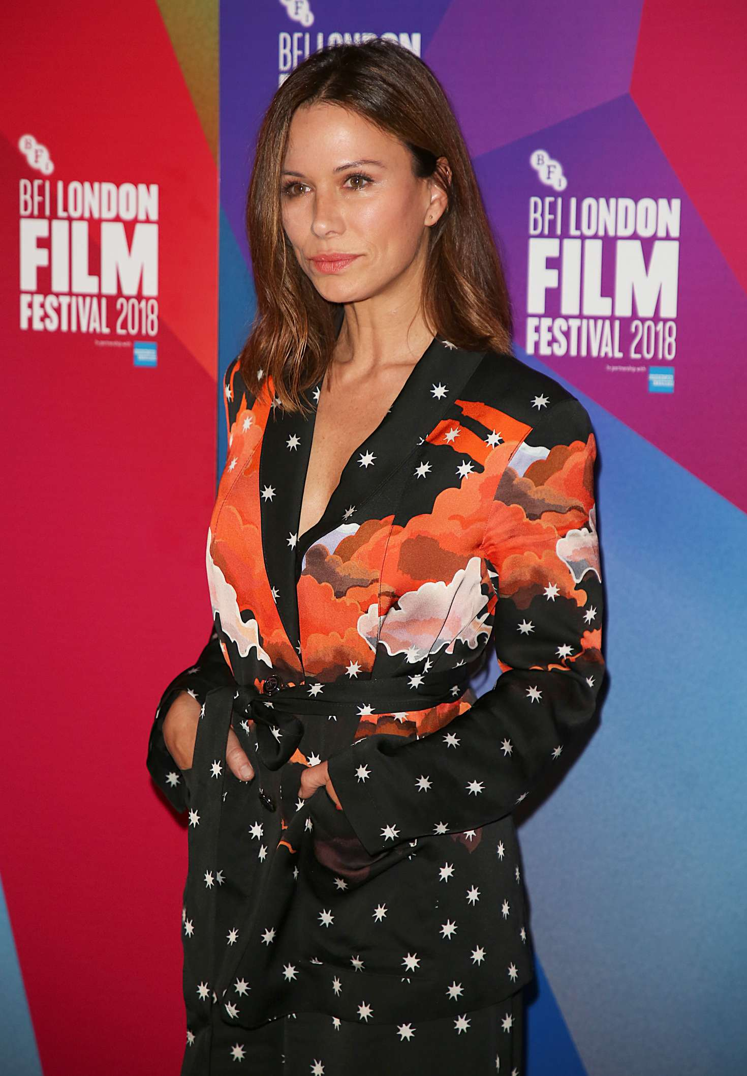 Rhona Mitra - 'The Fight' Premiere at 62nd BFI London Film Festival