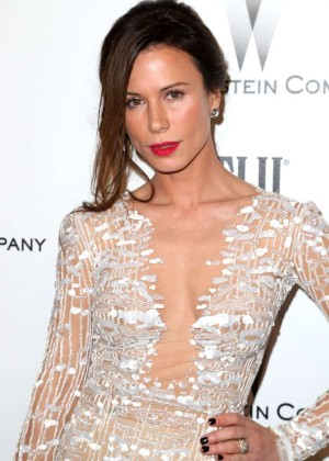 Rhona Mitra - The Weinstein Company & Netflix's Golden Globes Party 2015 in Beverly Hills