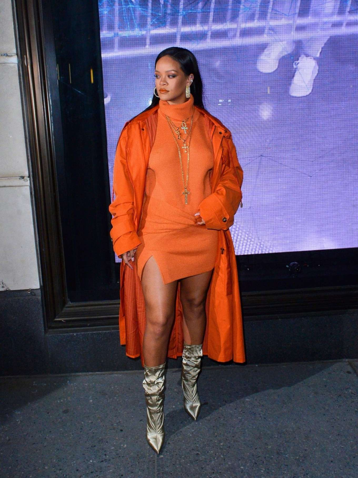 Rihanna - 2020 Fenty Launch at Bergdorf Goodman in New York