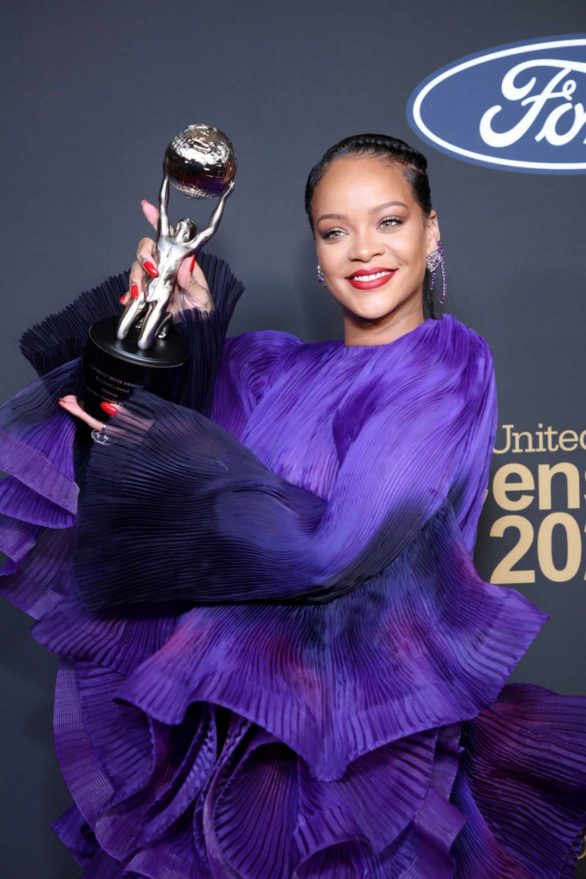 Rihanna - 2020 NAACP Image Awards in Pasadena