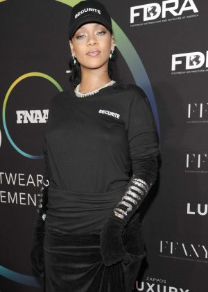 Rihanna - 30th Footwear News Achievement Awards in NY