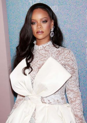 Rihanna - 4th Annual Clara Lionel Foundation Diamond Ball in NY