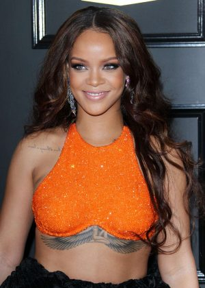 Rihanna - 59th GRAMMY Awards in Los Angeles