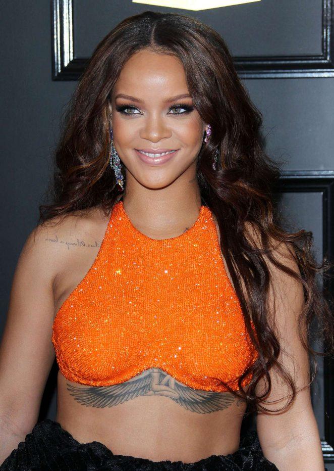 Rihanna - 59th GRAMMY Awards in Los Angeles