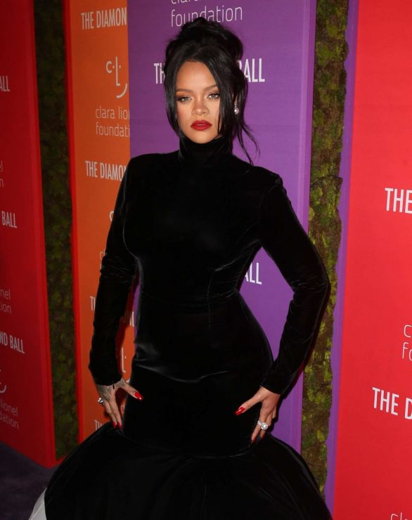 Rihanna - 5th Annual Diamond Ball in NYC