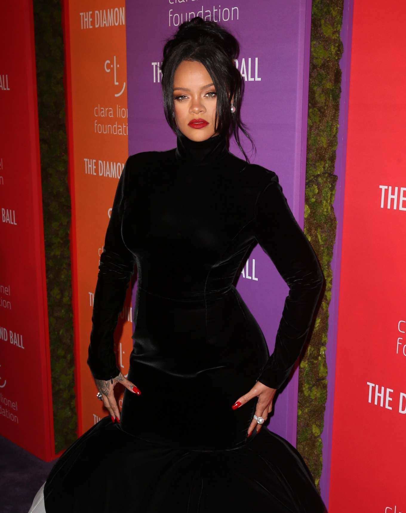 Rihanna - 5th Annual Diamond Ball in NYC